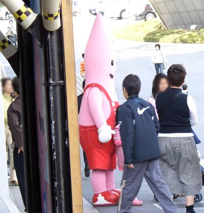 東京タワー写真2 ノッポン
