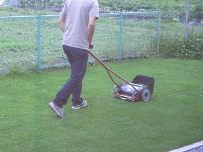 バロネスの芝刈り機