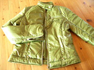 ANITA ARENBERG(アニタ・アレンバーグ)の中綿ライダースジャケット1