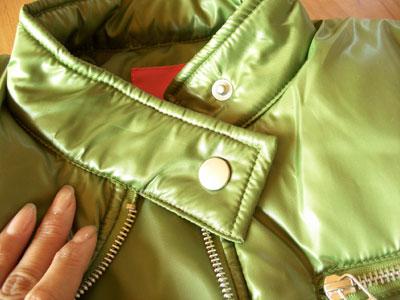 ANITA ARENBERG(アニタ・アレンバーグ)の中綿ライダースジャケット2